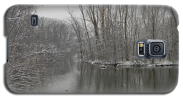 Winter Reflections 1 Galaxy S5 Case