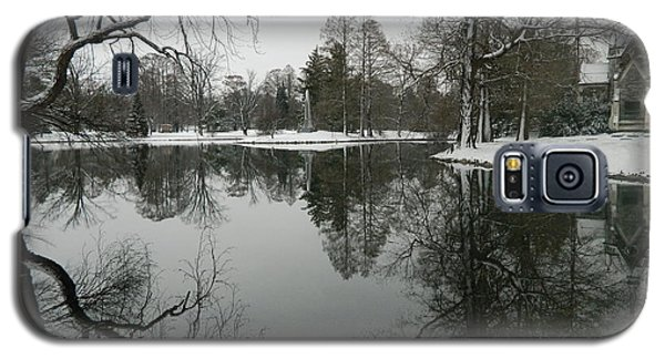 Galaxy S5 Case featuring the photograph Winter Reflections 2 by Kathy Barney