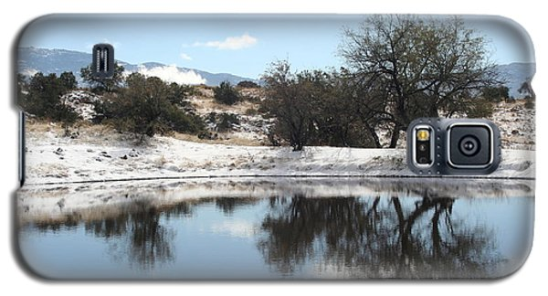 Winter Reflections Galaxy S5 Case by David S Reynolds