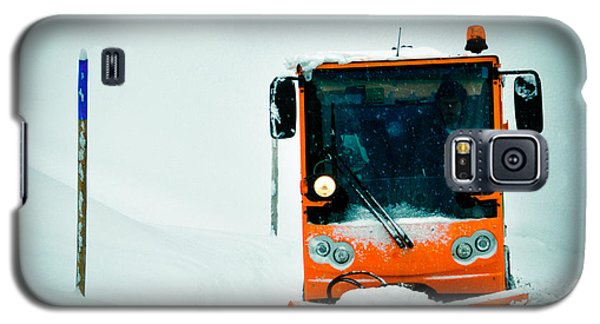 Orange Galaxy S5 Case - Winter Road Clearance by Matthias Hauser