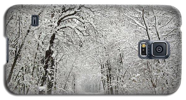 Galaxy S5 Case featuring the photograph Winter Scene 2 by Gabriella Weninger - David