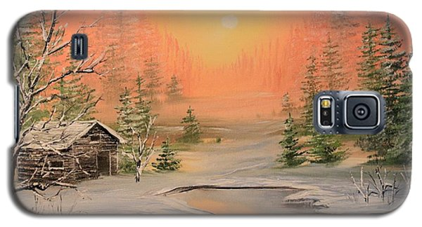 Winter Scene 2 Galaxy S5 Case