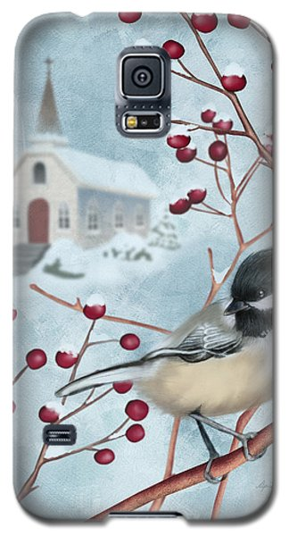 Winter Scene I Galaxy S5 Case