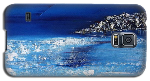 Winter Scene In The Alps Galaxy S5 Case
