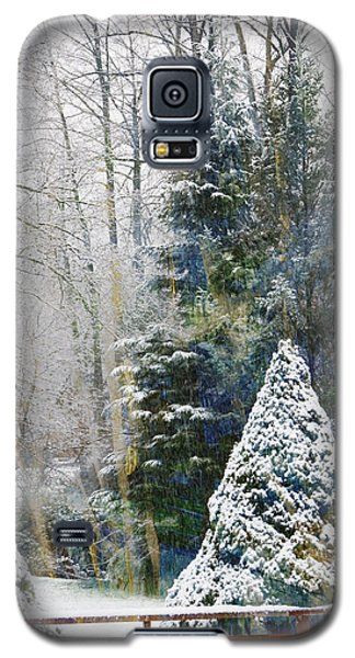Winter Scene Galaxy S5 Case