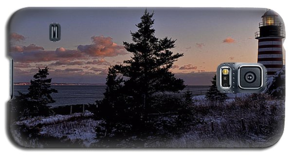 Winter Sentinel Lighthouse Galaxy S5 Case