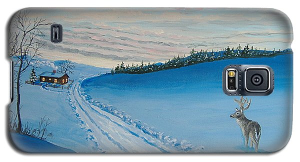 Winter Sentinel Galaxy S5 Case by Norm Starks