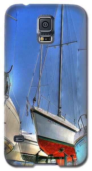 Winter Shipyard Galaxy S5 Case