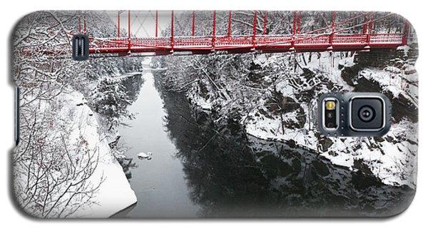 Winter Solitude Square Galaxy S5 Case