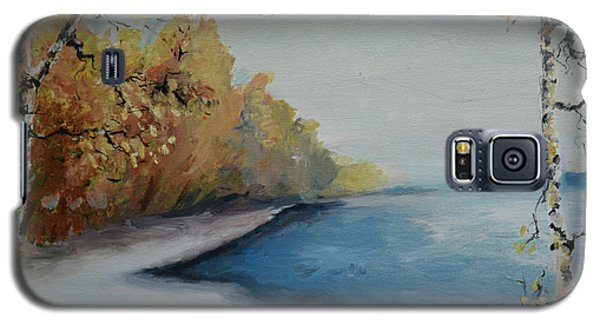 Winter Starts At Kymi River Galaxy S5 Case