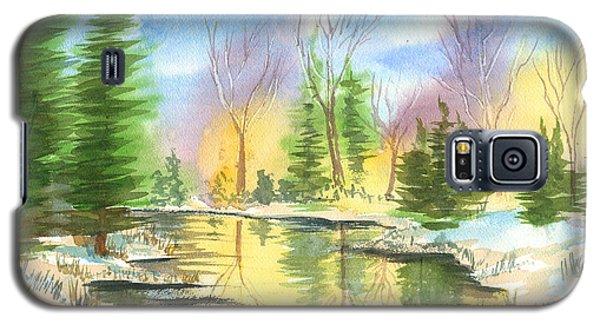 Winter Stillness Galaxy S5 Case
