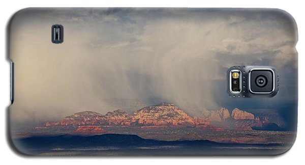 Winter Storm Approaches Sedona Galaxy S5 Case