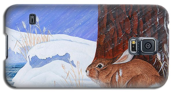 Galaxy S5 Case featuring the painting Winter Storm Approaching by Jennifer Lake
