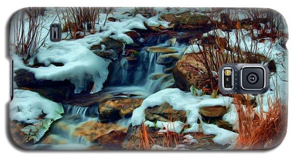 Winter Stream Galaxy S5 Case by Dennis Lundell