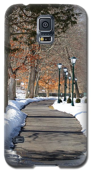 Winter Stroll Galaxy S5 Case by Margie Avellino