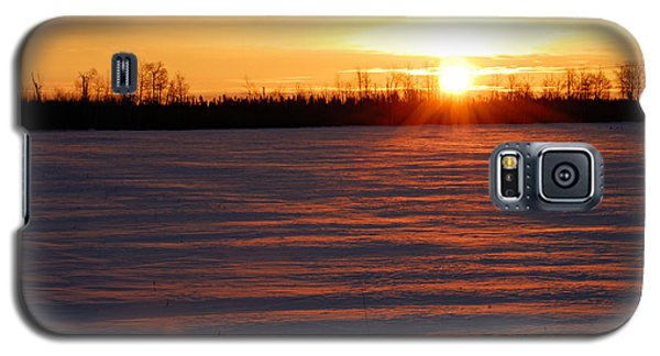 Winter Sunrise Galaxy S5 Case