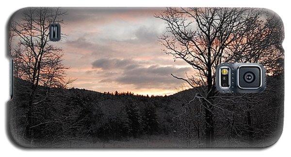 Galaxy S5 Case featuring the photograph Winter Sunrise by Mim White
