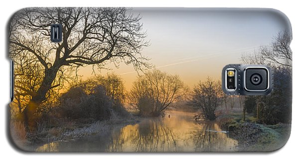 Winter Sunrise Galaxy S5 Case by Trevor Chriss