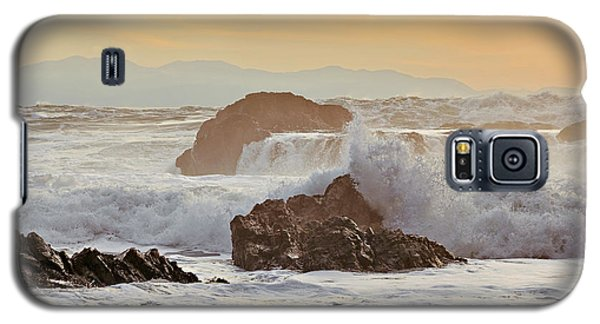 Winter Sunset At Port Renfrew Galaxy S5 Case