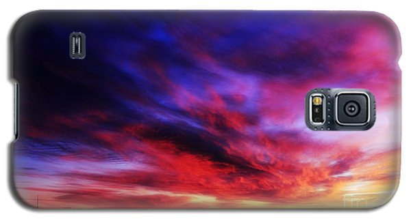 Winter Sunset Galaxy S5 Case by Charline Xia