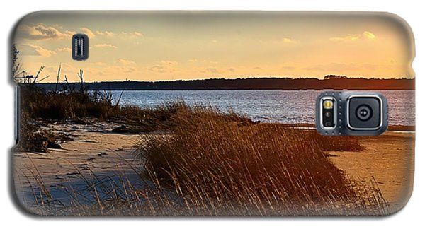 Winter Sunset On The Cape Fear River Galaxy S5 Case