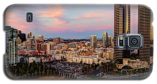 Galaxy S5 Case featuring the photograph Winter Sunset San Diego by Heidi Smith