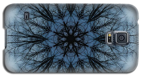 Winter Tree Mandala 2 Galaxy S5 Case