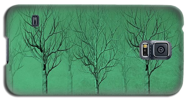 Winter Trees In The Mist Galaxy S5 Case