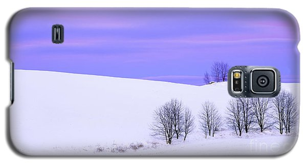 Winter Twilight Landscape Galaxy S5 Case