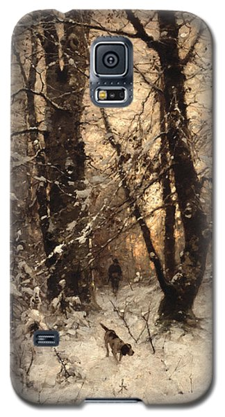 Icy Galaxy S5 Case - Winter Twilight by Ludwig Munthe