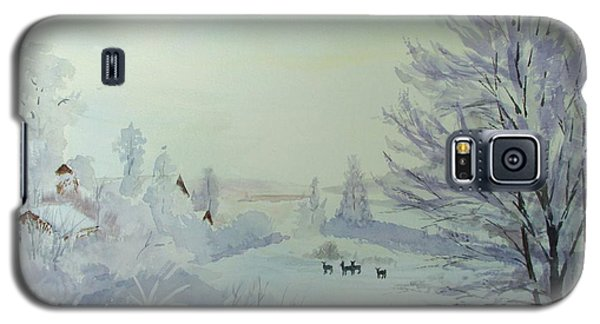 Winter Visitors Galaxy S5 Case by Martin Howard