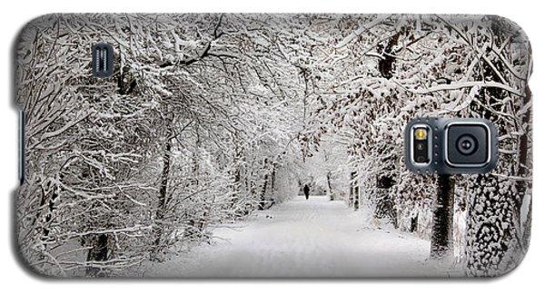 Winter Walk In Fairytale  Galaxy S5 Case