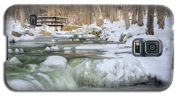 Galaxy S5 Case featuring the photograph Winter Water by Bill Wakeley