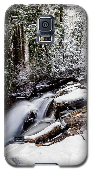 Winter Water Fall 2 Galaxy S5 Case