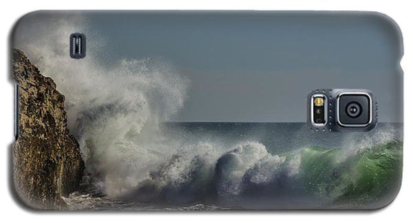 Winter Waves Galaxy S5 Case by Linda Villers