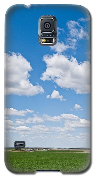 Winter Wheat Farm In The Palouse Galaxy S5 Case