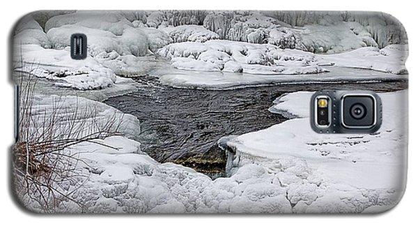 Vermillion Falls Winter Wonderland Galaxy S5 Case by Patti Deters
