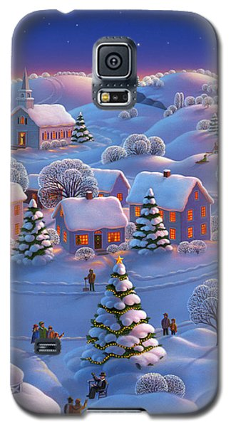 Galaxy S5 Case featuring the painting Winter Wonderland  by Robin Moline