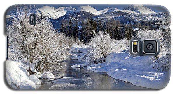 Winter Wonderland Whistler B.c Galaxy S5 Case