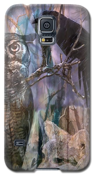 Winter Woods Galaxy S5 Case