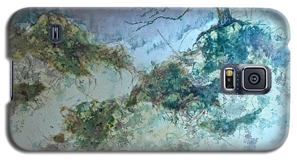 Galaxy S5 Case featuring the painting Winter's Morn by Carolyn Rosenberger