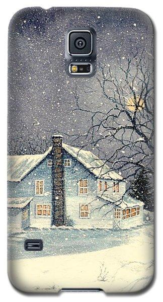 Winter's Silent Night Galaxy S5 Case