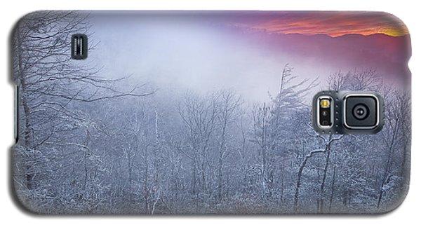 Winter's Sunrise Galaxy S5 Case