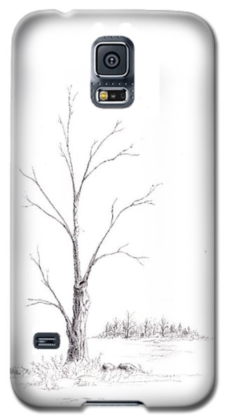 Winter's Tree Galaxy S5 Case