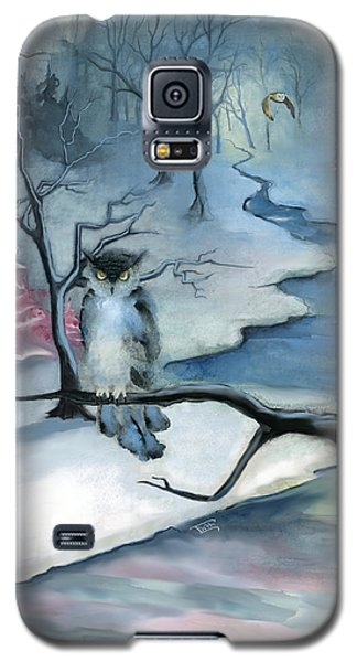 Galaxy S5 Case featuring the painting Winterwood by Terry Webb Harshman