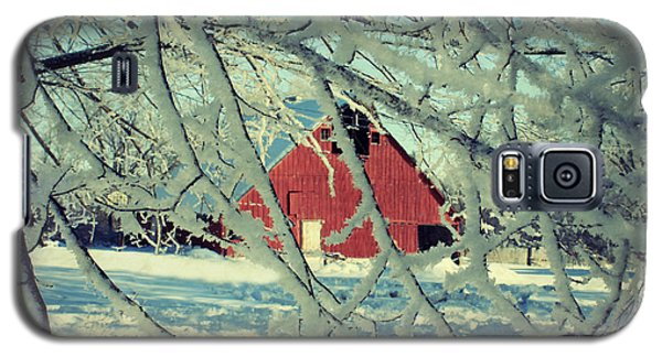 Our Frosty Barn Galaxy S5 Case