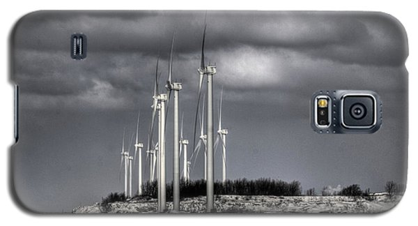 Wintry Windmills Galaxy S5 Case