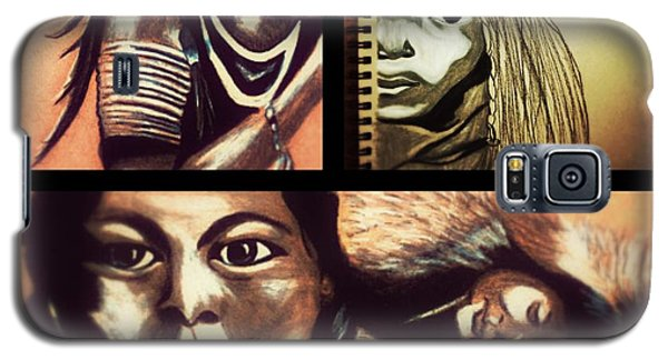 Historical Native Series Called Idle No More Galaxy S5 Case
