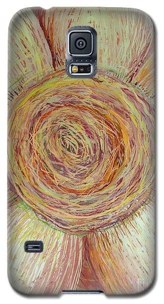 Wiry Sunflower Galaxy S5 Case