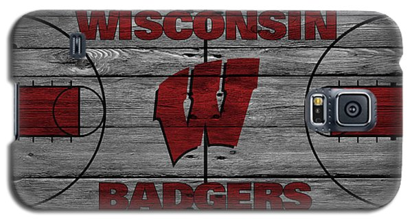 Wisconsin Badger Galaxy S5 Case by Joe Hamilton